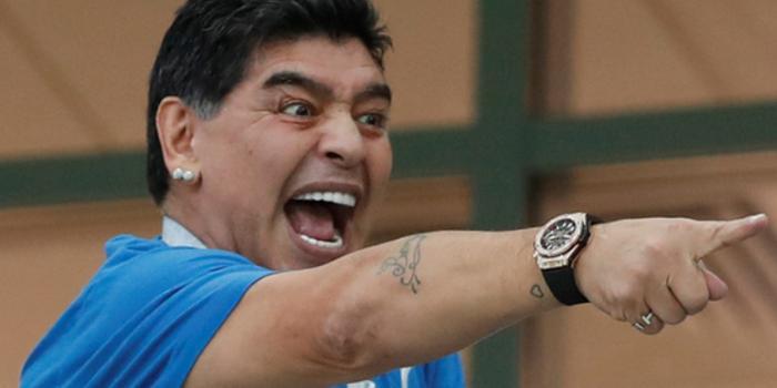 阿根廷球王马拉多纳被传去世 出1万美元找造谣者