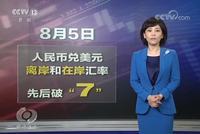 焦点访谈:美指责中国操纵汇率是罔顾事实乱贴标签