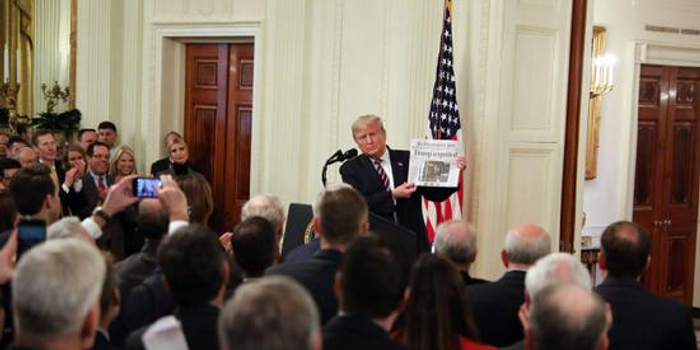 特朗普在白宫演讲 庆祝弹劾指控被否