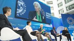 IMF世行年会:协作抵御经济风险 以多边方式应对挑战