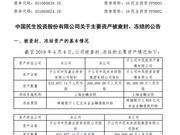 中民投:公司涉诉金额算计29.59亿元 占净资产的3.85%