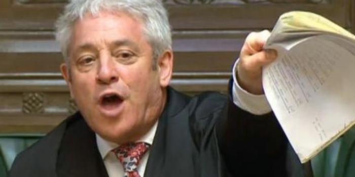 与约翰逊政见不合 英国下议院议长宣布辞职