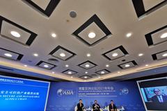 """特斯拉陶琳缺席博鰲 原定參與""""打造安全可控的產業鏈供應鏈""""論壇"""