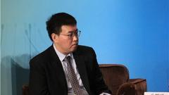 中诚信国际董事总经理、企业评级总监毛麒璟主持