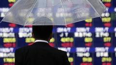 亚太股市周三普遍下挫 日经指数收跌1.3%