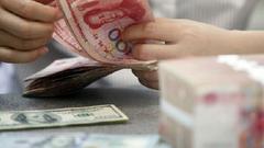 21日人民币中间价报6.5867贬值197点 为9月以来最低