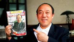 新闻周刊封面人物:第二个登上该杂志封面的中国人