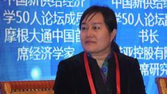 """张韶华:央行提倡货币政策加宏观审慎政策""""双支柱"""""""