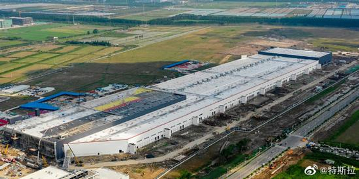 特斯拉:上海超级工厂建设顺利 预计今年年底正式投产