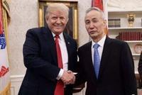 美国总统特朗普会见刘鹤:期待与习近平早日会晤