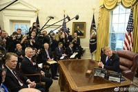 美国总统特朗普会见刘鹤 双方决定将本轮磋商延长2天