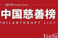 福布斯中国2019中国慈善榜:许家印杨国强马云列前三