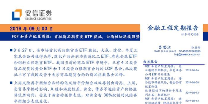 FOF和资产配置周报:首批商品期货类ETF获批