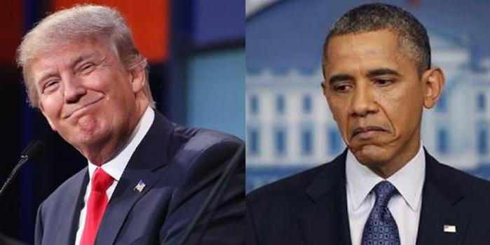 特朗普与奥巴马挣功后 白宫发报告力捧现任总统