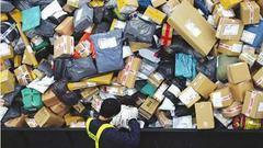包装污染——鼓励使用可降解、可重复利用材料