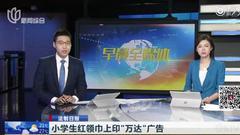 红领巾印广告招众怒:校长被处分 全国少工委介入处理