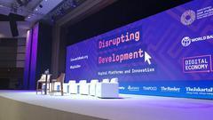 直播回顾 | 世行行长金墉对话马云:数字平台的创新和未来
