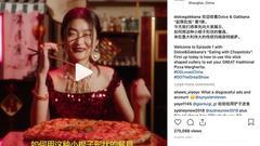 D&G辱华门背后劣迹斑斑:Instagram却沉默删帖