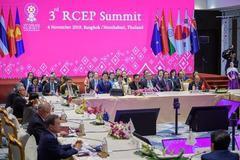 RCEP声明:15国明年签协议 印度暂决定不加入RCEP