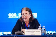 柯凱琳:實現2030可持續發展目標需企業做出表率促進合作機制達成