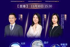 11月30日郭磊、博時廣發南方嘉實等直播解析新能源車、軍工等熱點