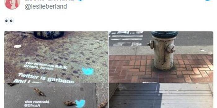 """推特在旧金山街道上打""""牛皮廯""""广告 被指责违法"""