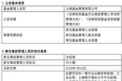 上银基金李永飞因个人原因离任 新任刘小鹏为总经理