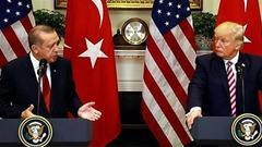 特朗普:我和土耳其总统关系很好 但不妨碍制裁