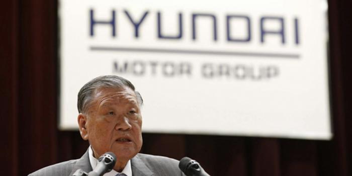 現代汽車董事長鄭夢九將于下月交棒 由長子繼任