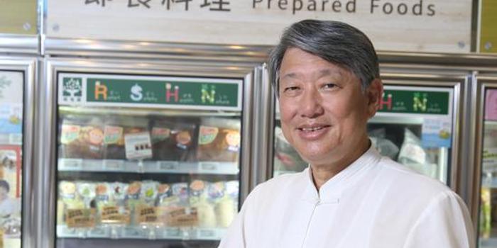 郭智辉从科技人变卖鱼郎 助崇越抢攻大健康商机