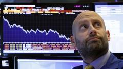 美股延续暴跌趋势 道指两日累计下跌逾1370点