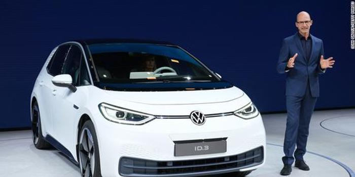 大众发布首款电动汽车ID3