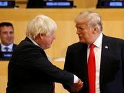 川普会晤英国首相约翰逊 讨论贸易、脱欧等议题