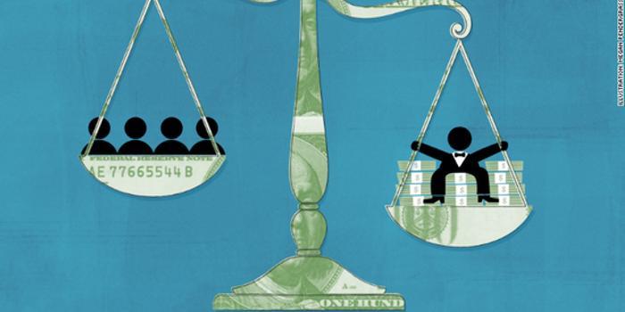 美国最富1%门槛有多高?至少年入50万美元