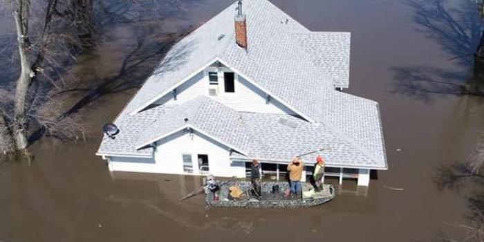 研究称2100年全球6.3亿人可能居住在洪水位以下