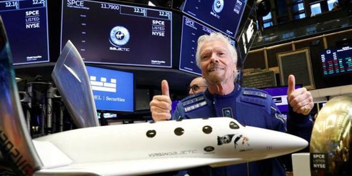 太空旅游第一股上市四天暴跌20% 分析師稱炒作太多
