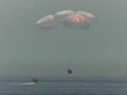 SpaceX首次载人龙飞船成功返回地球 开启商业载人航天新时代