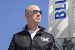 """定了!和貝索斯一起進行太空旅行的""""船票""""以2800萬美元拍賣"""