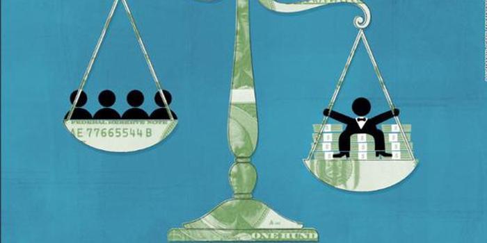 美国最富1%坐拥财富几乎是中产和中上阶层总和