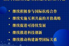 習近平宣示中國推動構建人類命運共同體五大舉措
