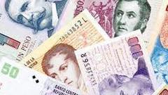 阿根廷央行周二入市抛汇2.61亿美元以支撑比索