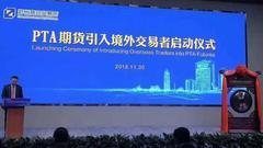 河南省副省长何金平:PTA国际化将助力河南自贸区