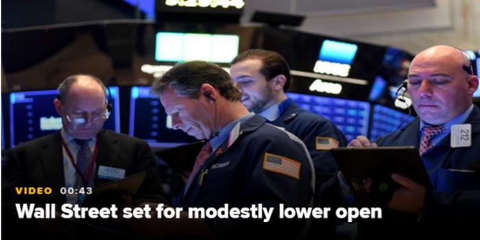 美股盤前:歐央行發布會議紀要 道指期貨跌0.1%