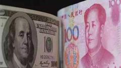 中美贸易战忧虑暂缓 人民币兑美元汇率大涨近300基点