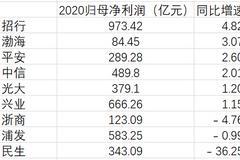 民生銀行2020年凈利潤同比大降36.25% 墊底9家股份行