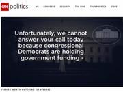 政府关门后,特朗普在白宫热线语音提醒里甩锅民主党