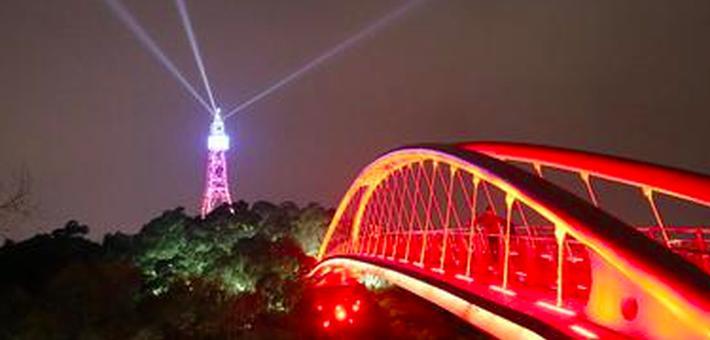 福州金鸡山公园照明升级