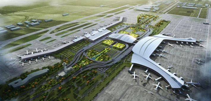 福州机场二期扩建获批 效果图曝光