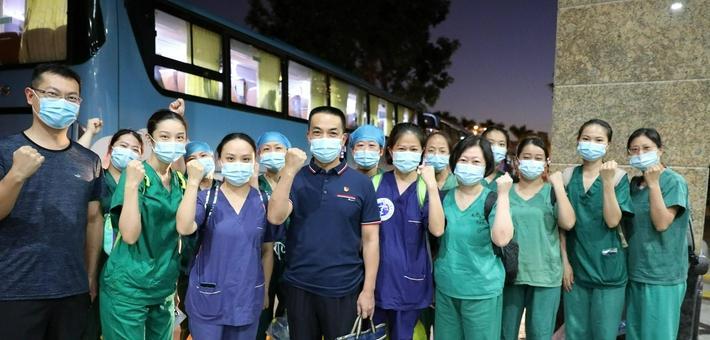 再次集结!1800余名医护人员支援同安