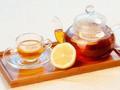 素食养生:柠檬果茶